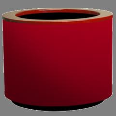 Кашпа за цветя със система - STEEL PLUS (50x40h)