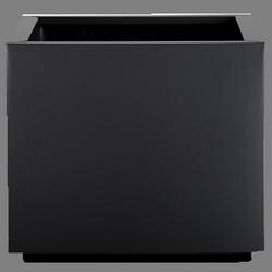 Кашпа за цветя със система - STEEL PLUS (35x35x35h)
