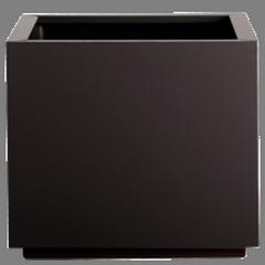 Кашпа за цветя със система за самополиване - STEEL PLUS (35x35x35h)