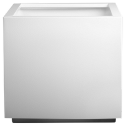 Кашпа за цветя със система - STEEL PLUS (50x50x40h)