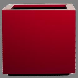Кашпа за цветя със система - STEEL PLUS (75x75x40h)