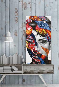 Декоративно пано за стена - G1002 (70x140)