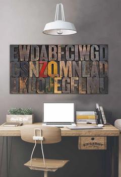 Декоративно пано за стена - G1272 (140x70)