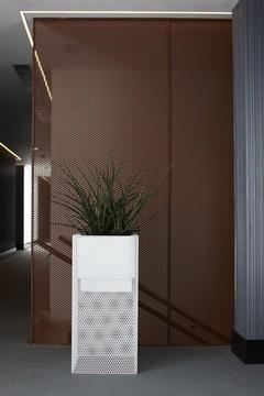 Кашпа за цветя със система - TOP (38x38x90)