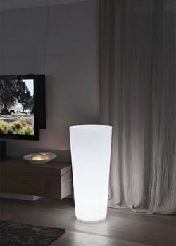 Светеща кашпа за цветя - ILIE (37x75h)