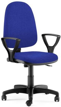 Работен офис Стол на колела made in Italy  цвят--синьо