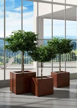 Кашпа за цветя - KUBE 50x50x50h